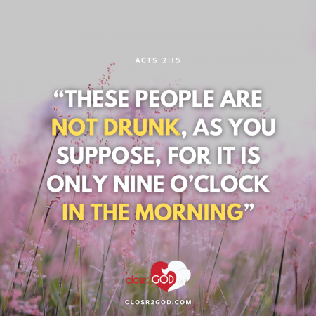 Acts 2 15