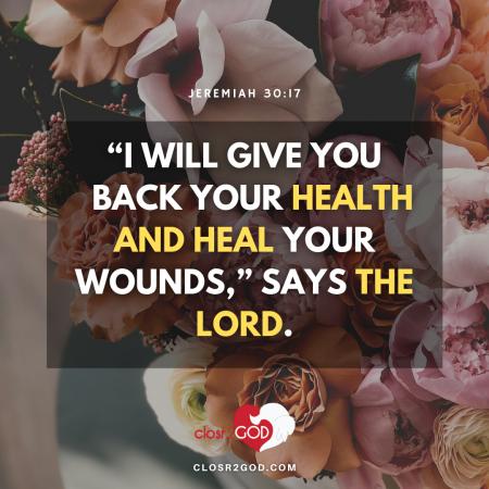 Jeremiah 30 17