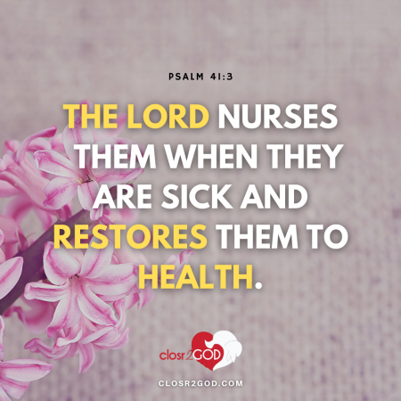 Psalm 41 3